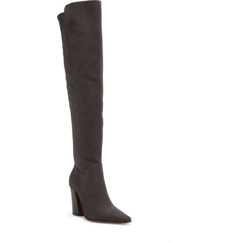 VINCE CAMUTO Demerri Over the Knee Boot, Main, color, THUNDER