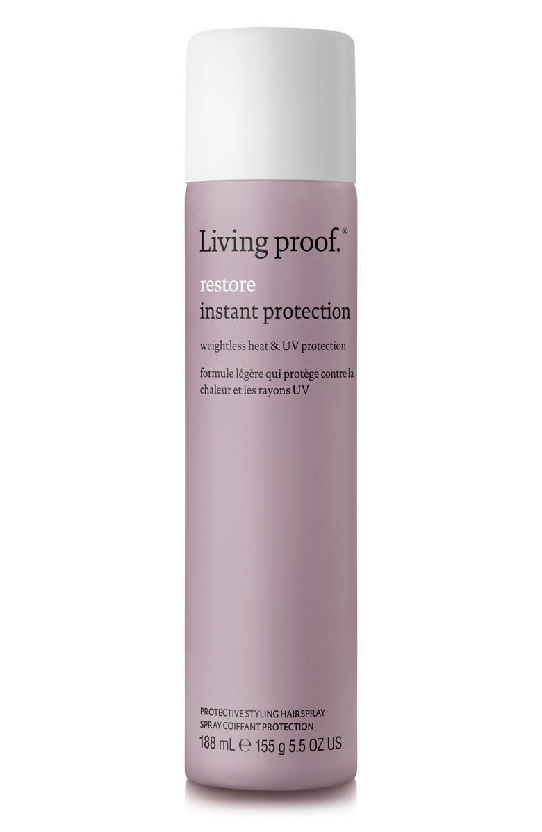 LIVING PROOF<SUP>®</SUP> Restore Instant Protection Protective Styling Hairspray, Main, color, 000