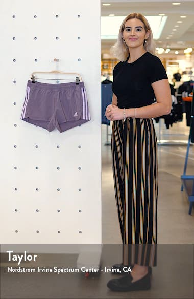 Pacer 3-Stripes Climalite<sup>®</sup> Knit Shorts, sales video thumbnail