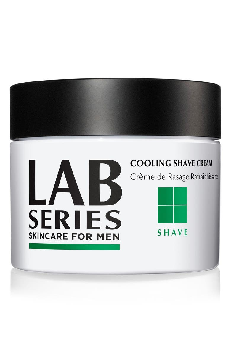LAB SERIES SKINCARE FOR MEN Cooling Shave Cream Jar, Main, color, NO COLOR
