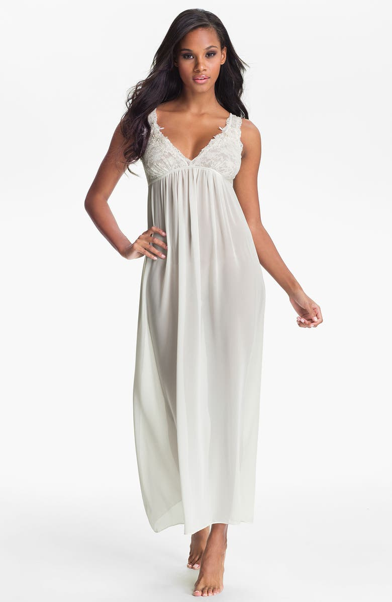 IN BLOOM BY JONQUIL 'Pearls & Lace' Nightgown, Main, color, 100