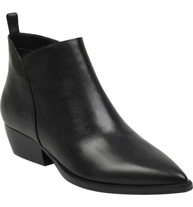 MARC FISHER LTD Obrra Pointy Toe Bootie, Main, color, 001