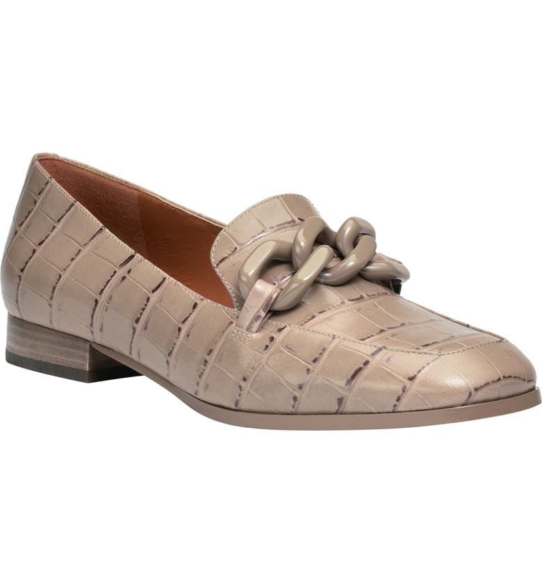 KATE SPADE NEW YORK rowan loafer, Main, color, LATTE LEATHER
