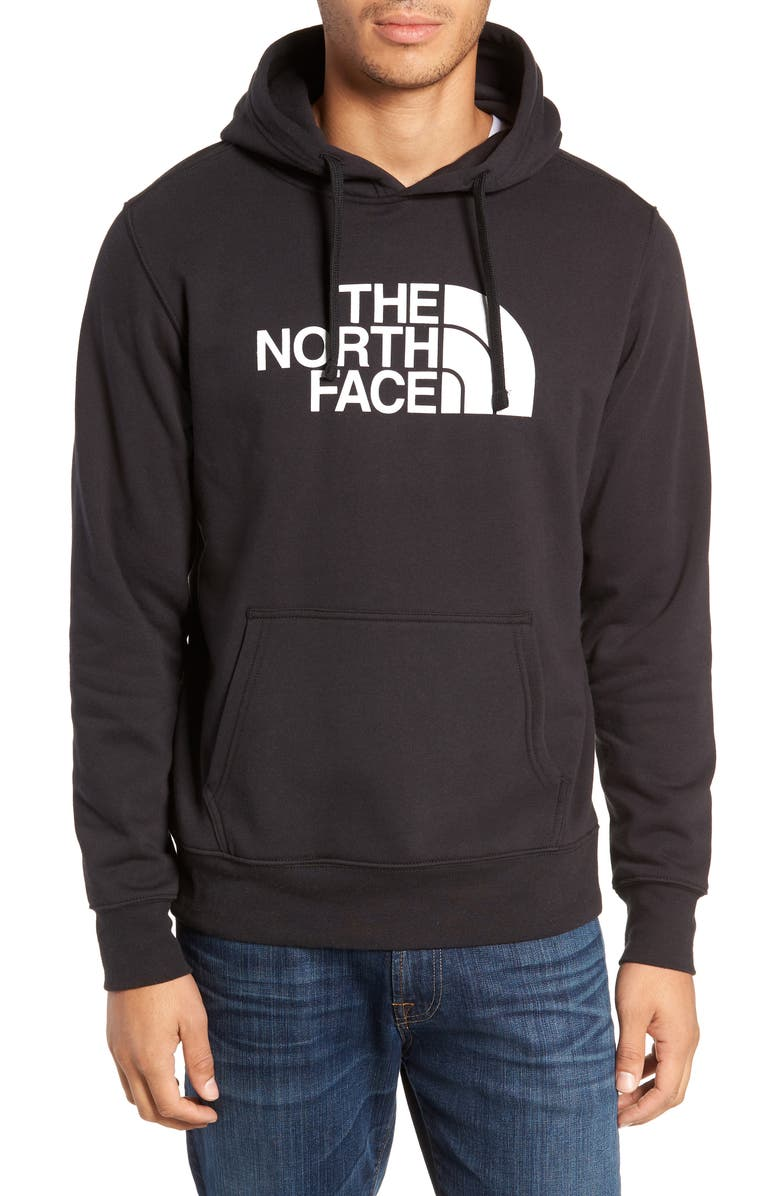 THE NORTH FACE Holiday Half Dome Hooded Pullover, Main, color, 001