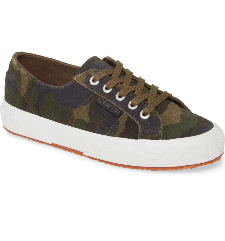 SUPERGA 2750 Suecamp Low Top Sneaker, Main, color, 300