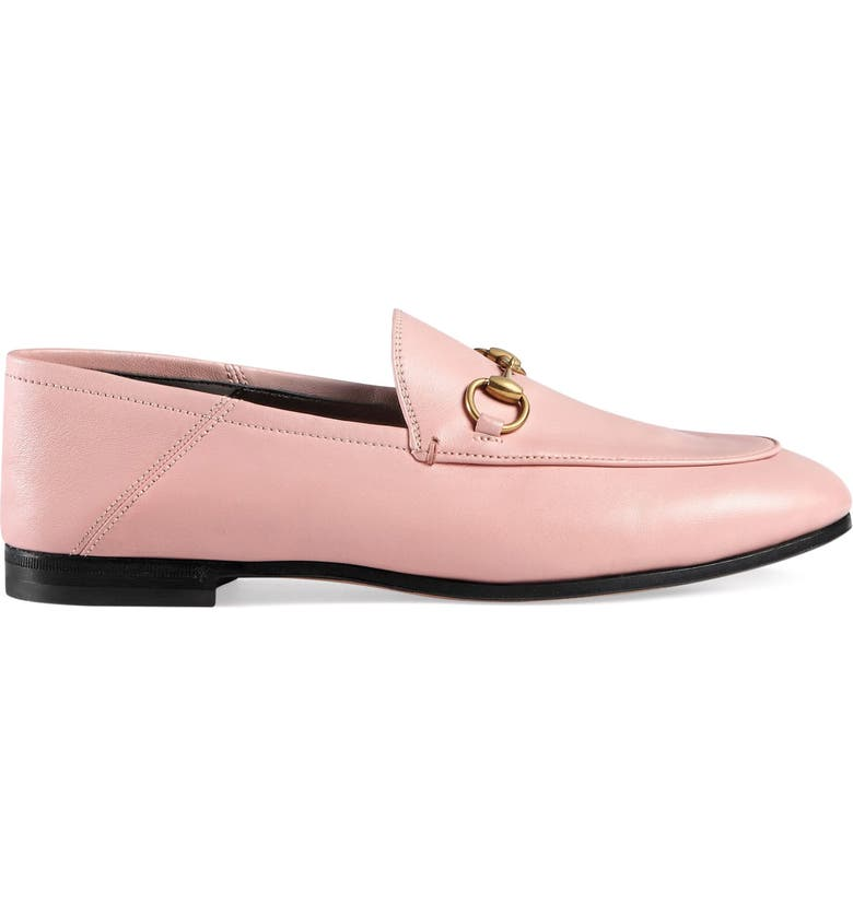 GUCCI Brixton Horsebit Convertible Loafer, Main, color, LIGHT PINK LEATHER