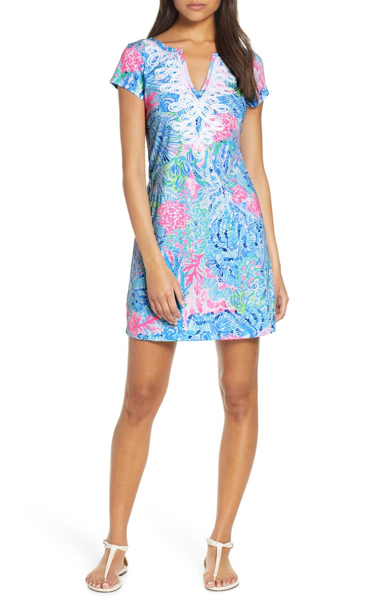LILLY PULITZER<SUP>®</SUP> Brewster Shift Dress, Main, color, 432