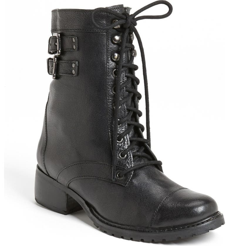 ME TOO Adam Tucker Me Too 'Liv' Military Boot, Main, color, 002