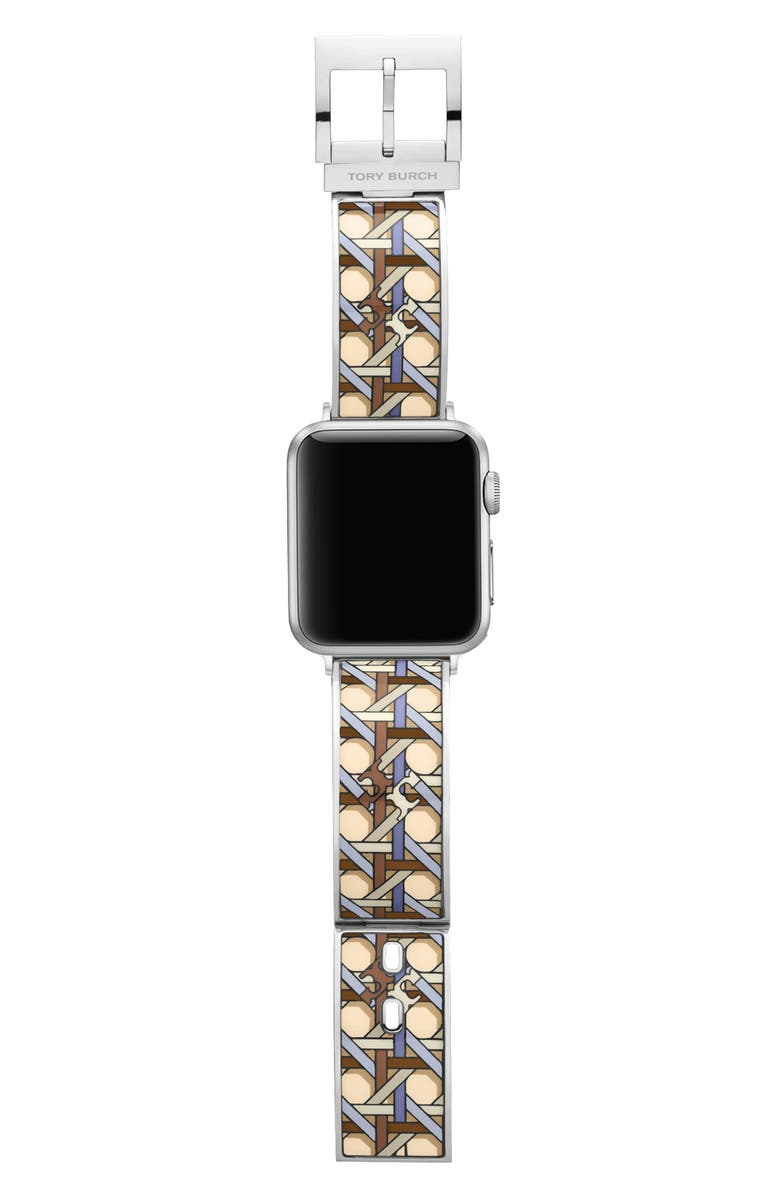 TORY BURCH The Buddy Bangle Band for Apple Watch<sup>®</sup>, 38mm/40mm, Main, color, MULTI