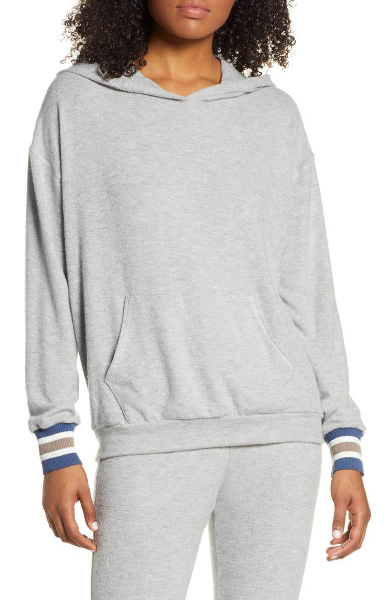 PROJECT SOCIAL T Finn Cozy Hoodie, Main, color, HEATHER GREY