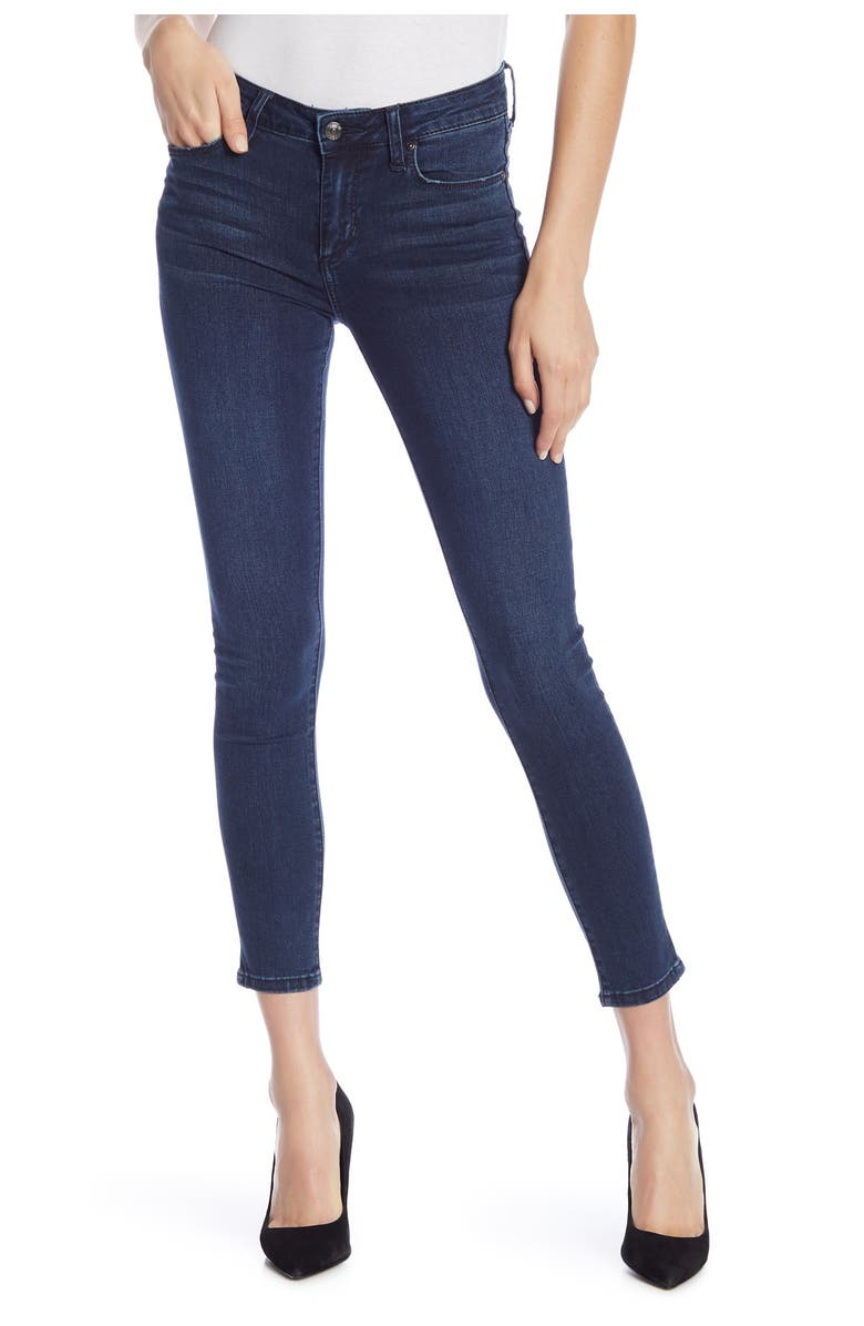 JOES Icon Ankle Jeans, Main, color, EBONY