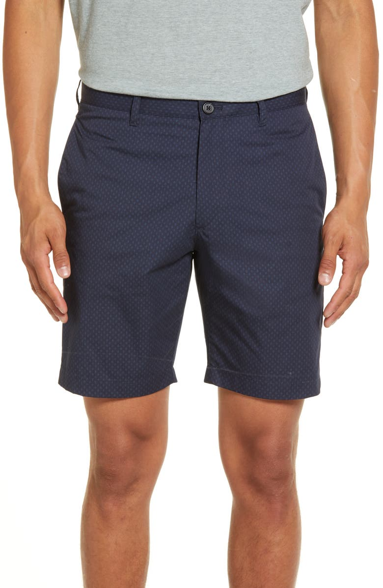 THEORY Zaine Wave Slim Fit Shorts, Main, color, 489