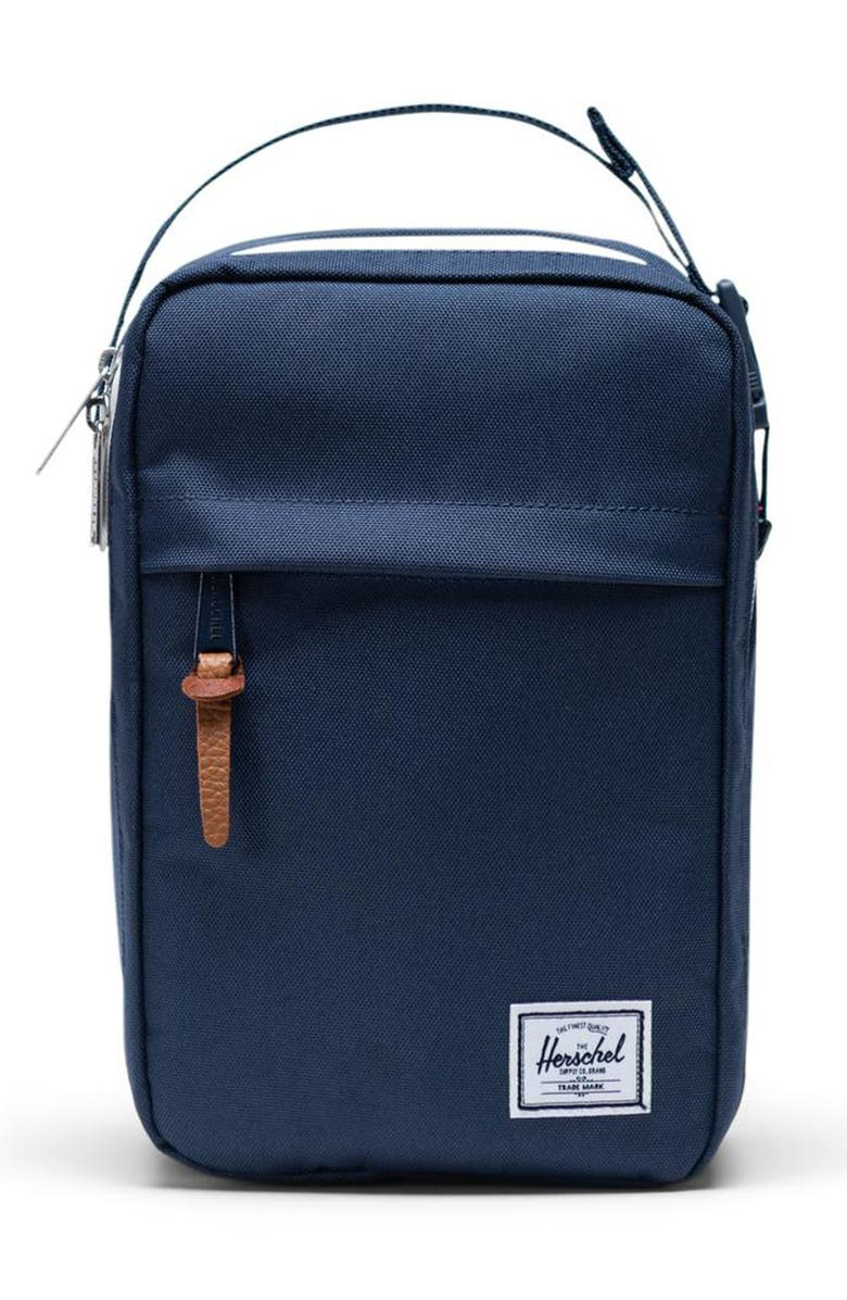 HERSCHEL SUPPLY CO. Chapter Connect Dopp Kit, Main, color, NAVY