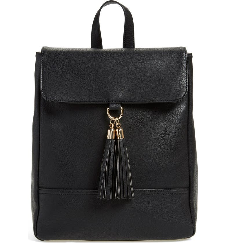 SOLE SOCIETY 'Ellie' Backpack, Main, color, 001