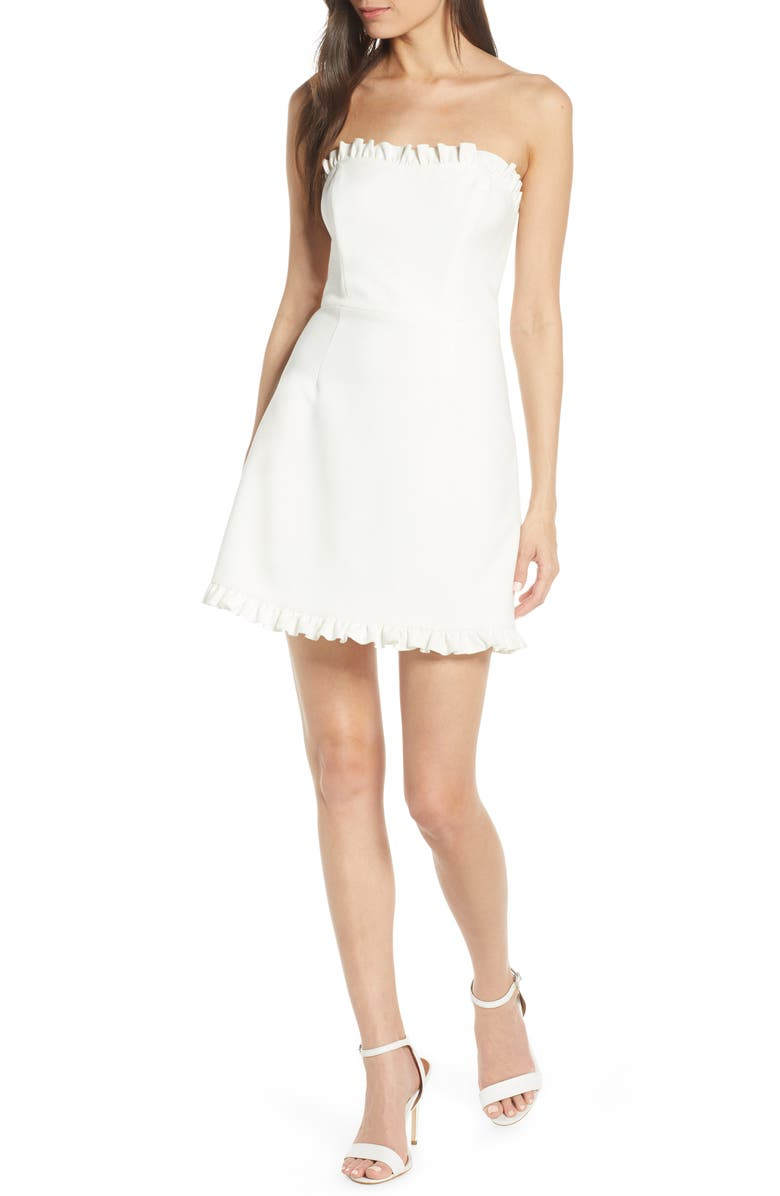 FRENCH CONNECTION Whisper Convertible Strap Dress, Main, color, 125