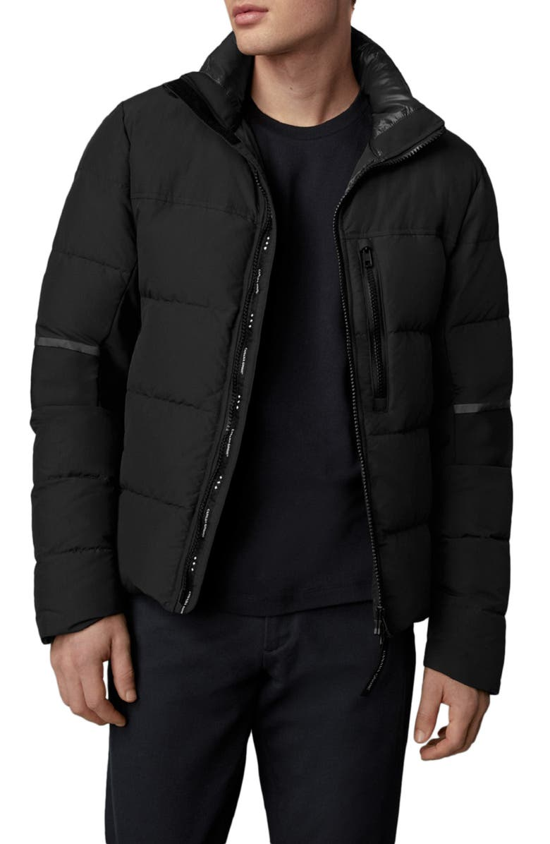 CANADA GOOSE Hybridge 750 Fill Power Down Jacket, Main, color, BLACK