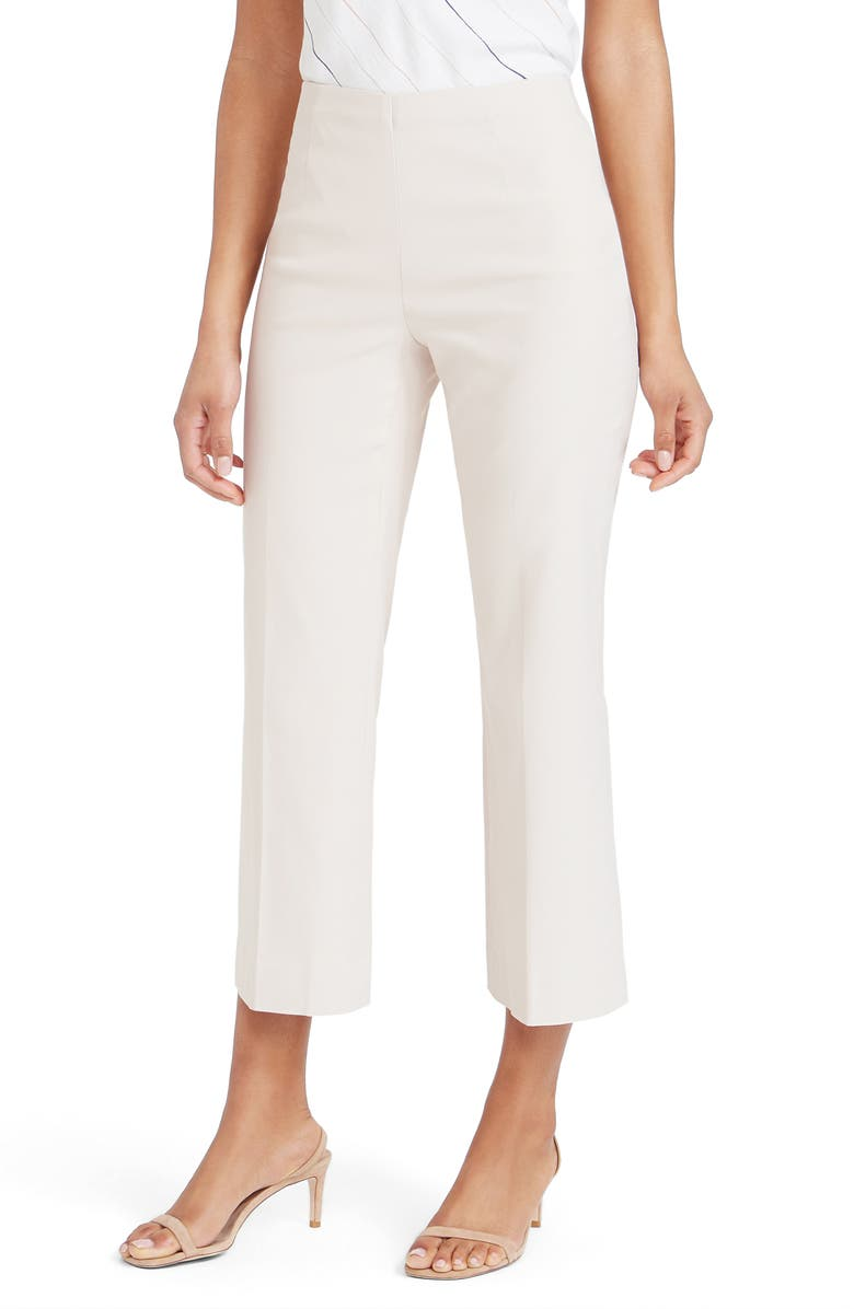 NIC+ZOE Polished Wonderstretch Crop Pants, Main, color, BLEACHED COPPER
