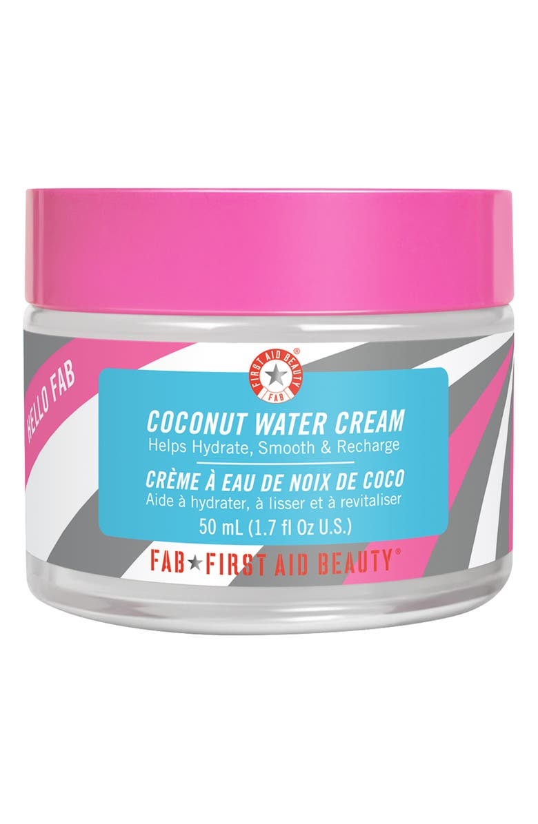 FIRST AID BEAUTY Hello FAB Coconut Water Cream, Main, color, No Color