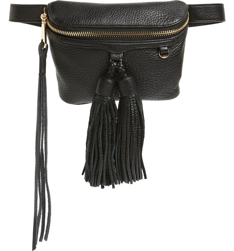 REBECCA MINKOFF 'Wendy' Belt Bag, Main, color, 001