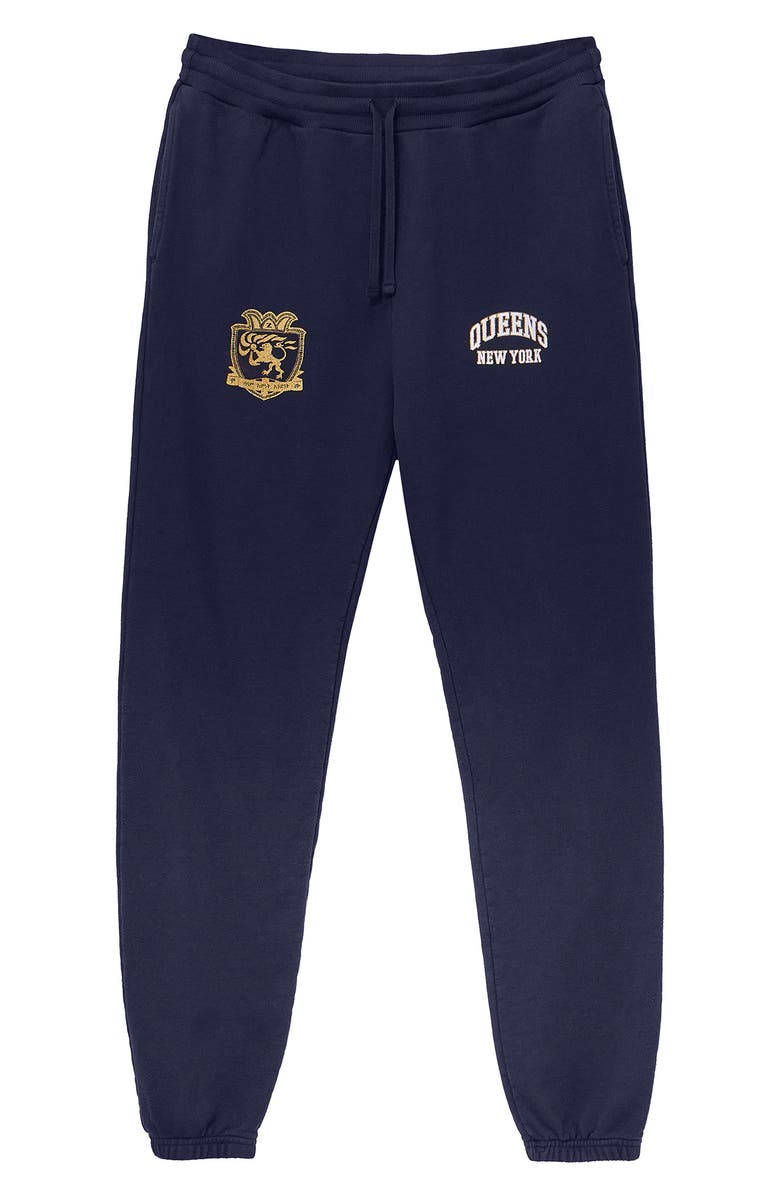 HSTRY BY NAS X COMING2AMERICA HSTRY by NAS x Coming 2 America Queens Colorblock Sweatpants, Main, color, MULTI