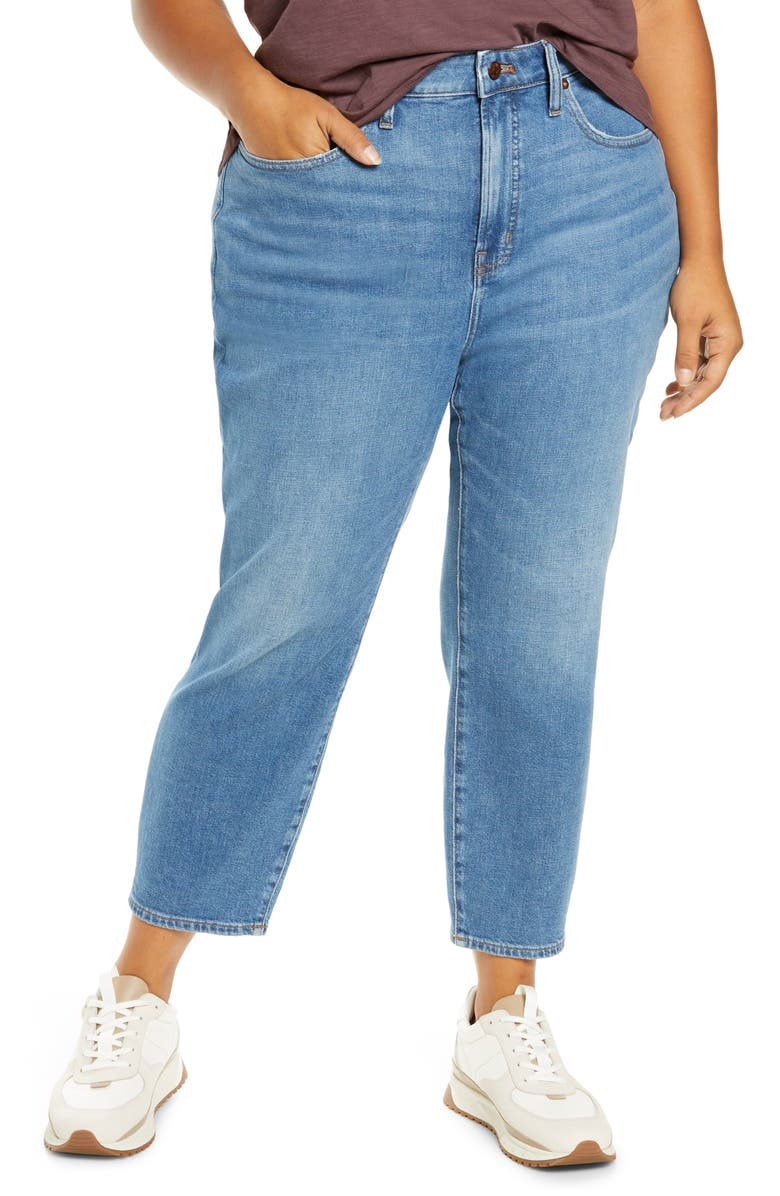 MADEWELL The Curvy Perfect Vintage Crop Jean, Main, color, SANDFORD