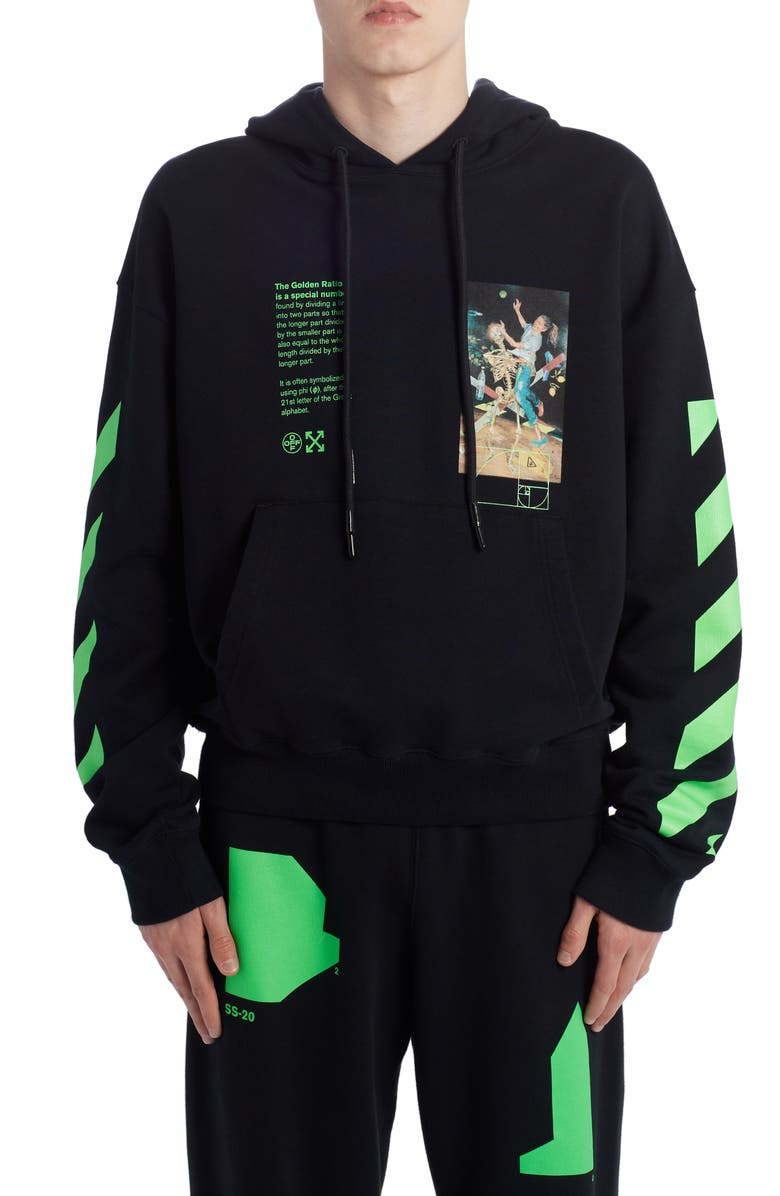 OFF-WHITE Pascal Painting Hoodie, Main, color, 001