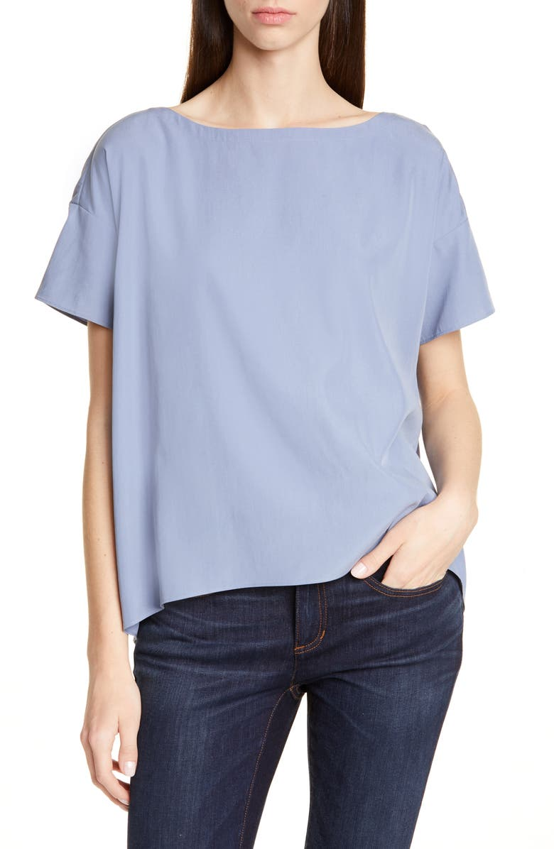 EILEEN FISHER High/Low Top, Main, color, 416