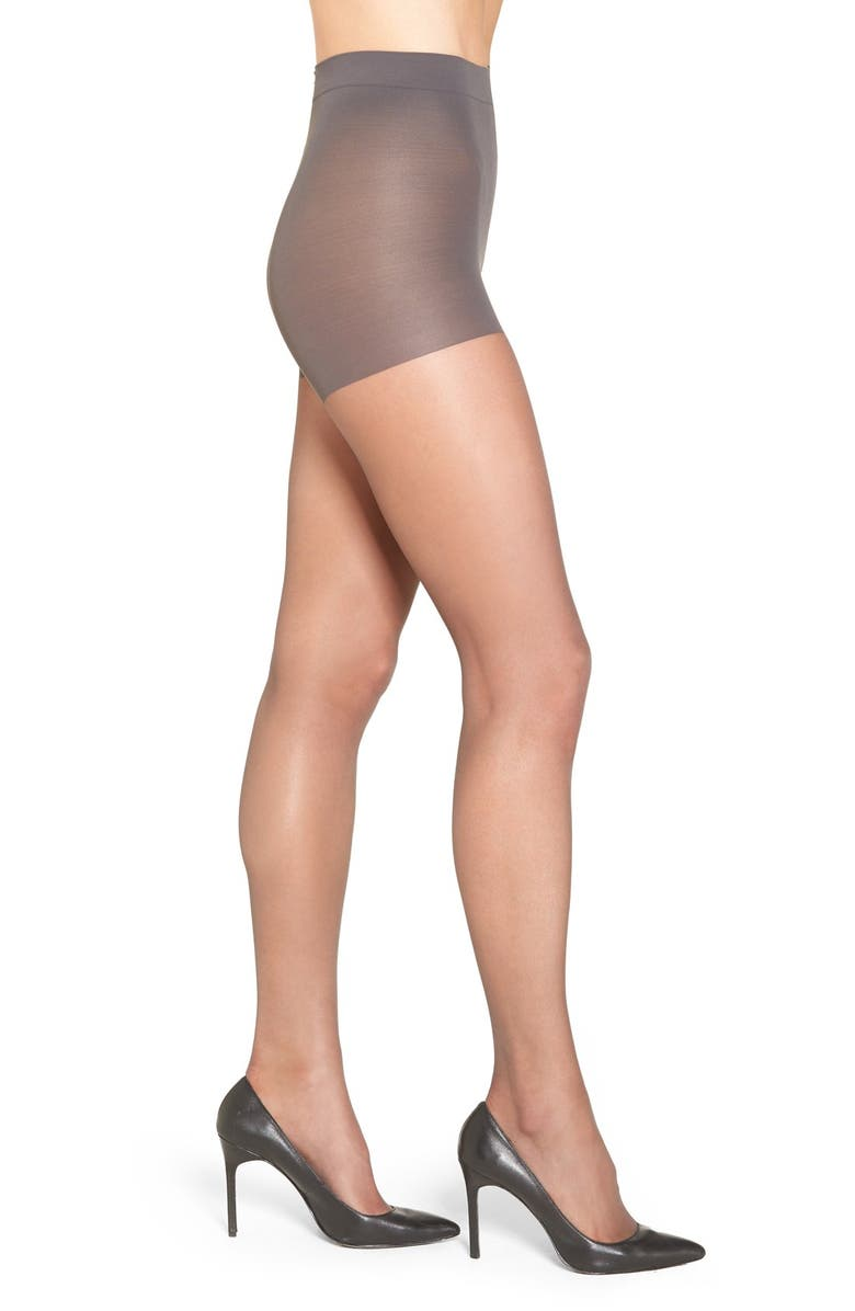 NORDSTROM Control Top Pantyhose, Main, color, 020
