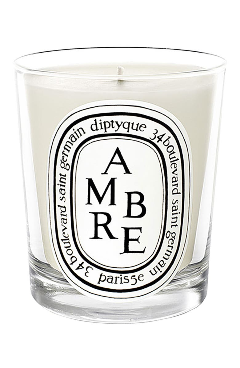 DIPTYQUE Ambre Scented Candle, Main, color, NO COLOR