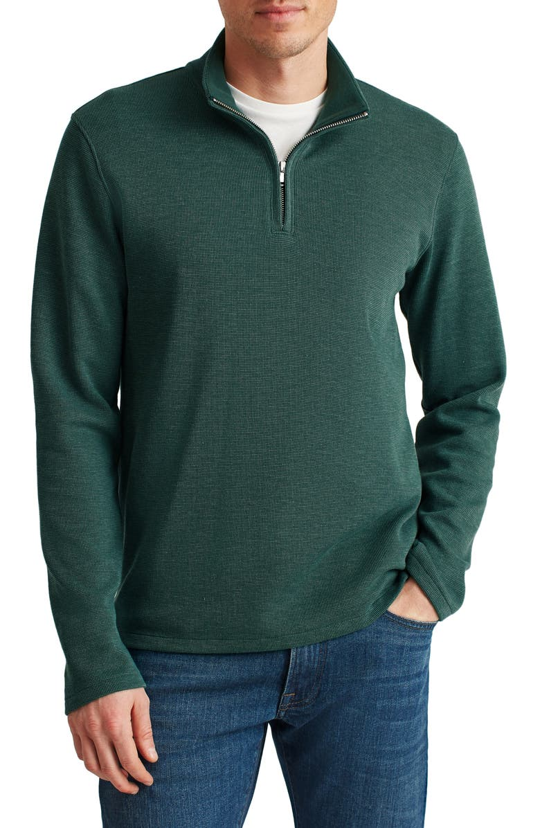 BONOBOS Daily Grind Half Zip Pullover, Main, color, SAGE LEAF / WILLOW