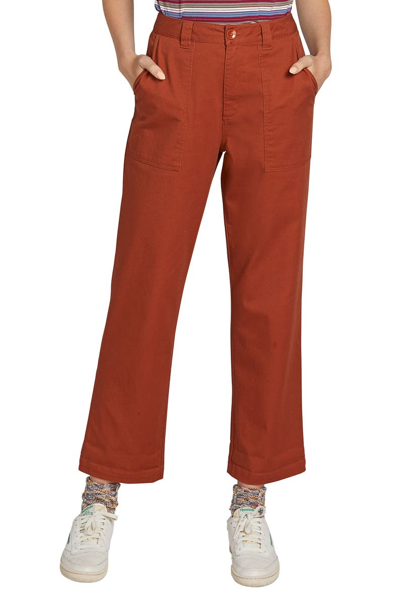 VOLCOM Frochickie Carpenter Pants, Main, color, 800