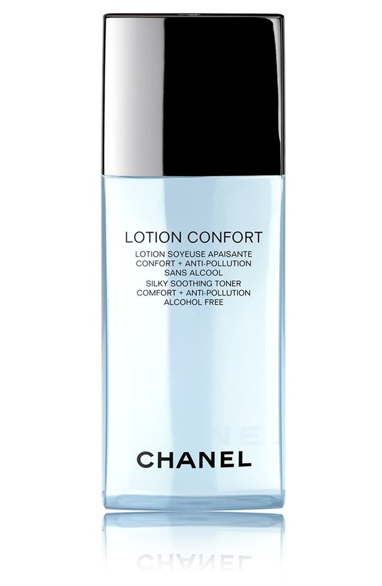 CHANEL LOTION CONFORT <br />Silky Soothing Toner Comfort + Anti-Pollution, Main, color, 000
