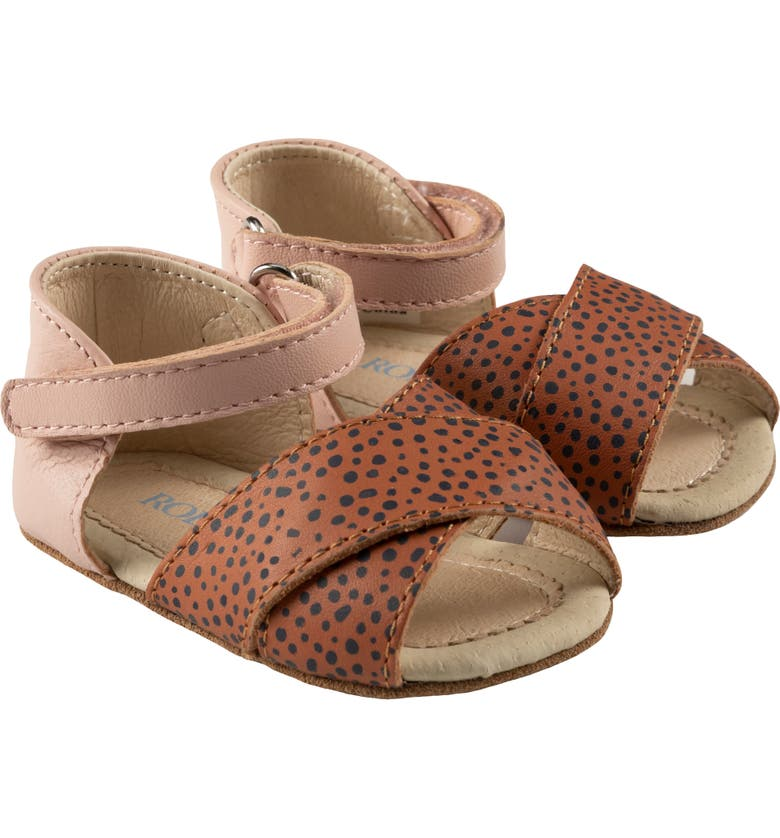 ROBEEZ Riley Sandal, Main, color, BAKED CLAY/ PINK