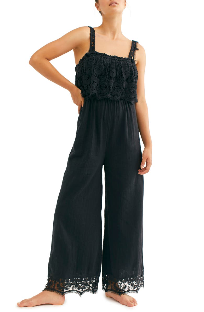 FREE PEOPLE Endless Summer by Free People In Your Dreams Jumpsuit, Main, color, 001
