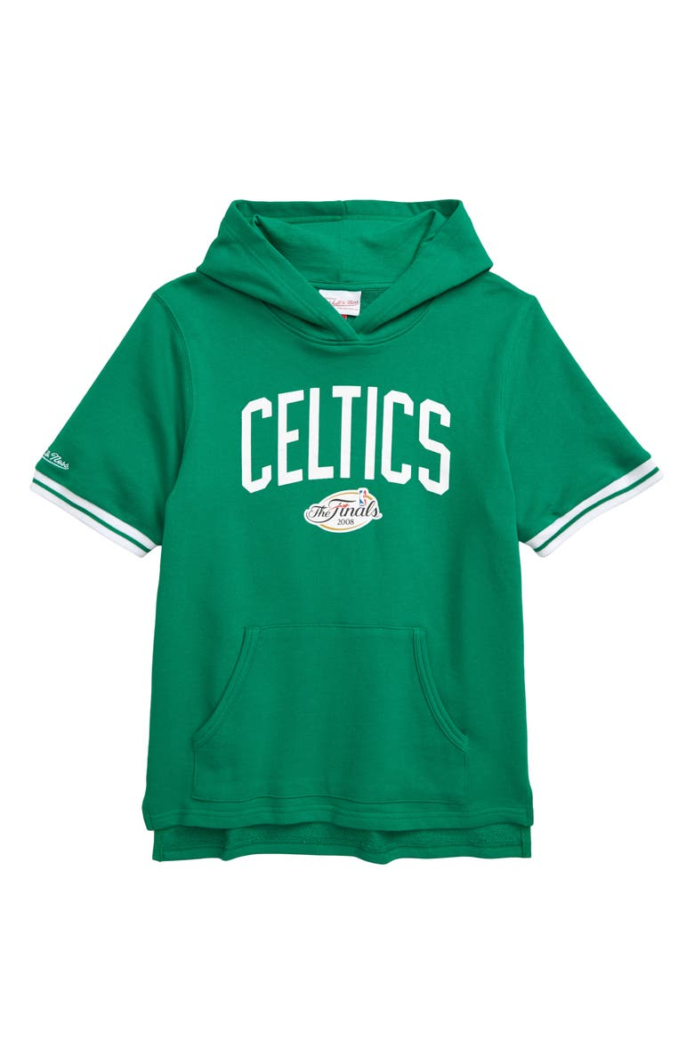 MITCHELL & NESS Boston Celtics French Terry Hoodie, Main, color, 300