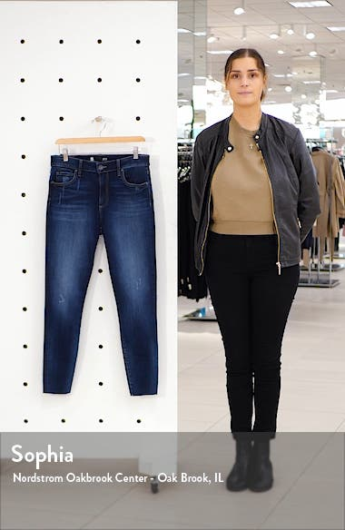 Connie High Waist Ankle Skinny Jeans, sales video thumbnail