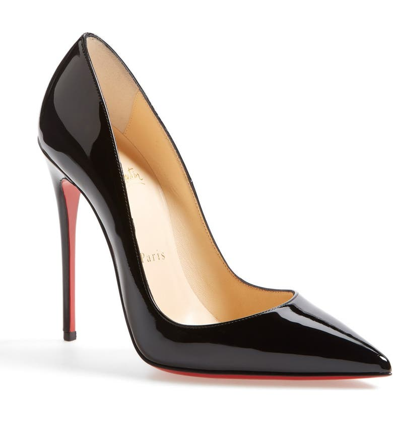 CHRISTIAN LOUBOUTIN So Kate Pointed Toe Pump, Main, color, Black