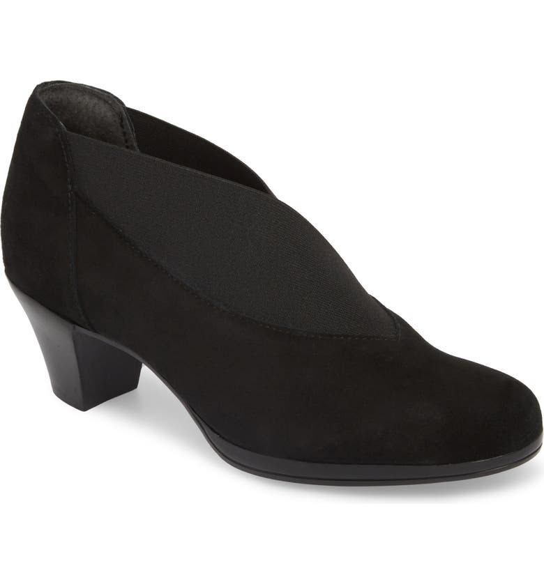 MUNRO Francee Boot, Main, color, BLACK SUEDE