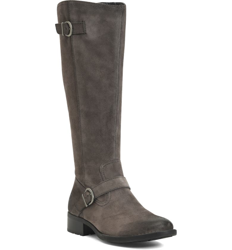 BØRN Chesire Knee High Boot, Main, color, GREY SUEDE