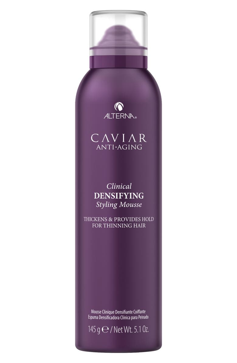 ALTERNA<SUP>®</SUP> Caviar Anti-Aging Clinical Densifying Styling Mousse, Main, color, 000