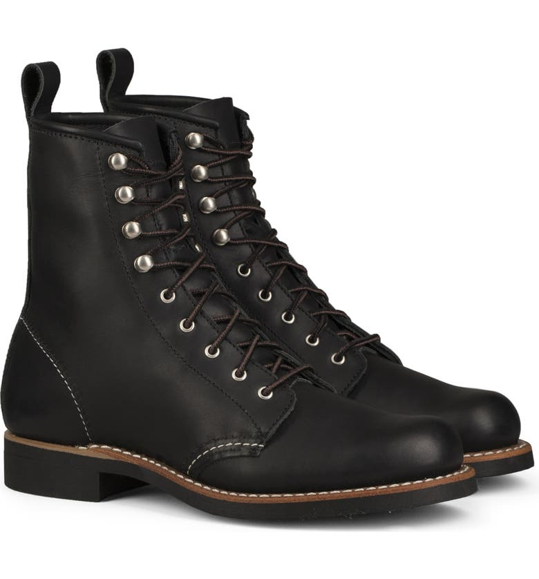 RED WING Silversmith Boot, Main, color, BLACK BOUNDARY