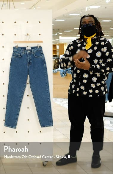 Nadine High Waist Relaxed Jeans, sales video thumbnail