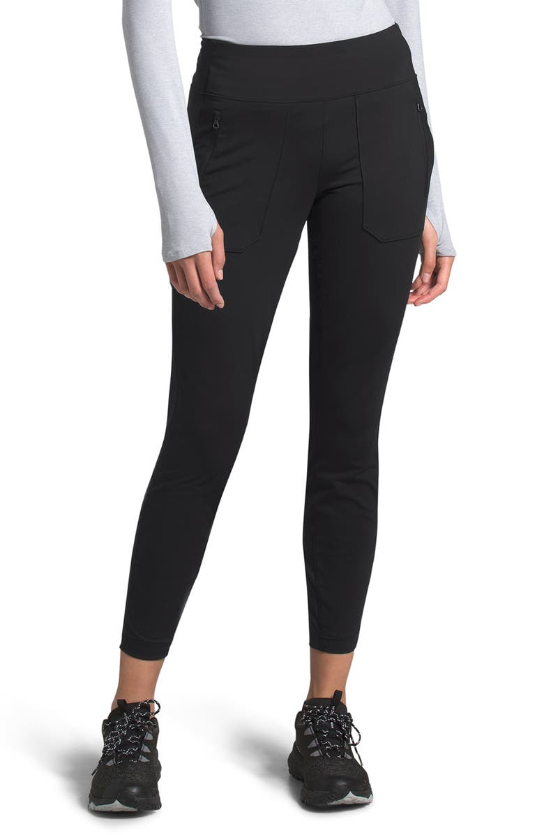 THE NORTH FACE Paramount Active Hybrid Tights, Main, color, BLACK
