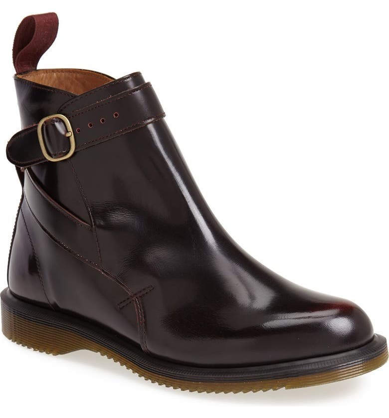 DR. MARTENS 'Teresa' Boot, Main, color, CHERRY RED ARCADIA