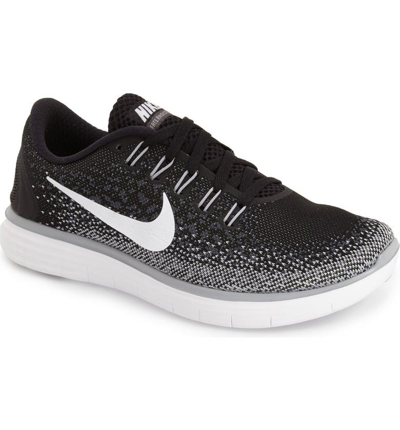 NIKE 'Free RN Distance' Running Shoe, Main, color, 010