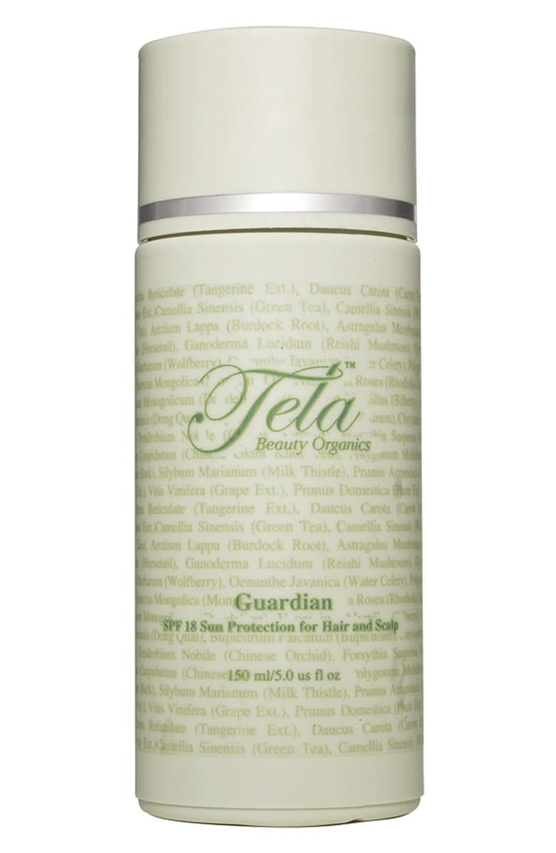 TELA BEAUTY ORGANICS 'Guardian' SPF 18 Sun Protection for Hair and Scalp, Main, color, No Color