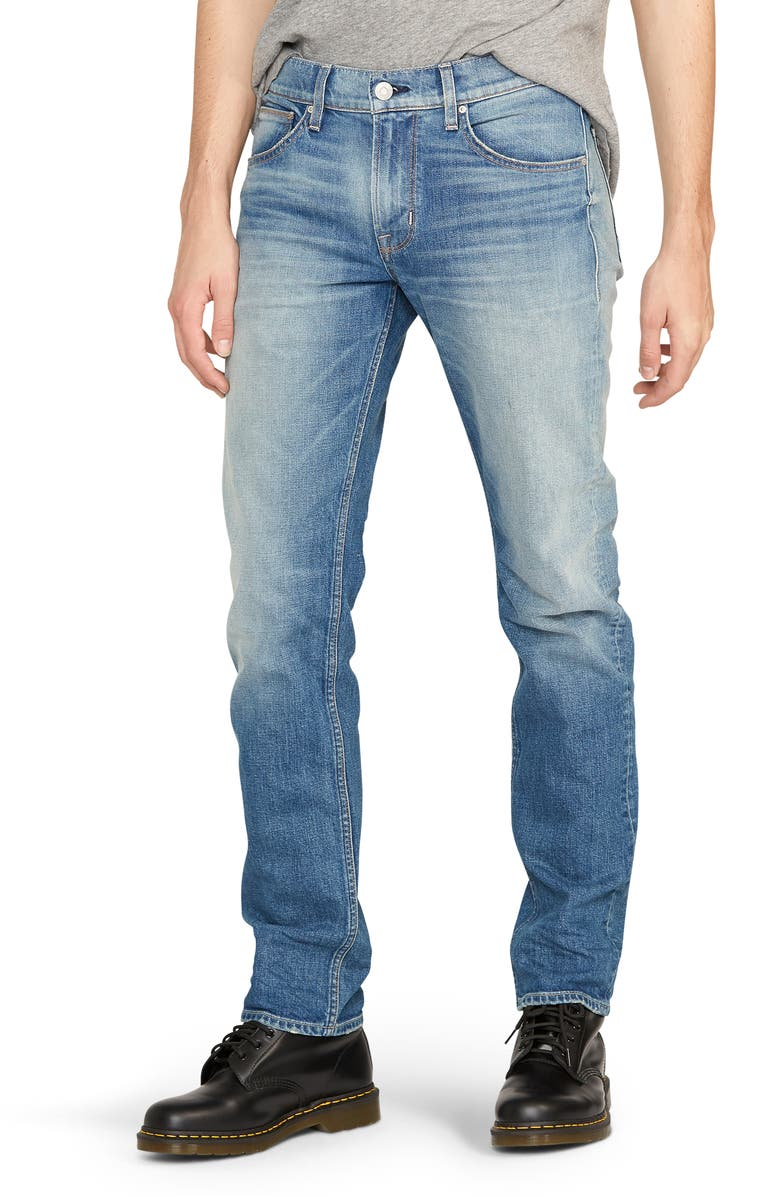 HUDSON JEANS Byron Slim Straight Leg Jeans, Main, color, 450