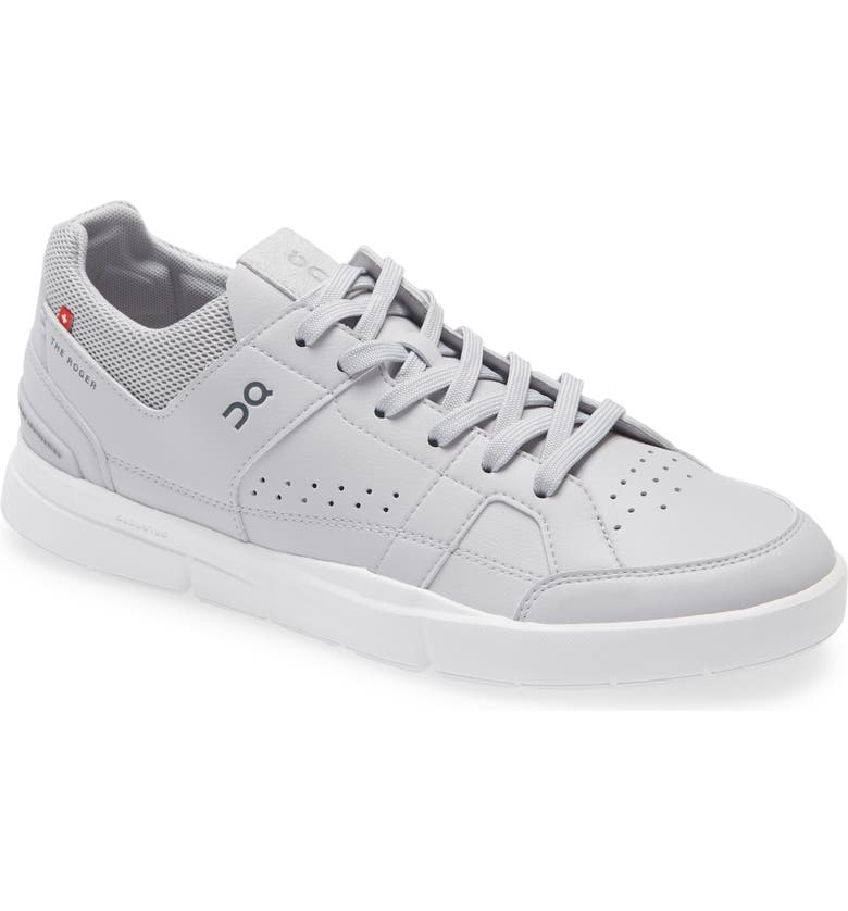 ON THE ROGER Clubhouse Tennis Sneaker, Main, color, Grey