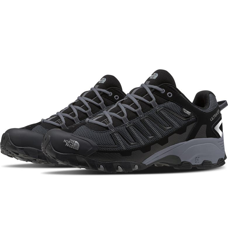 THE NORTH FACE Ultra 109 Waterproof Hiking Sneaker, Main, color, BLACK/ DARK SHADOW GREY