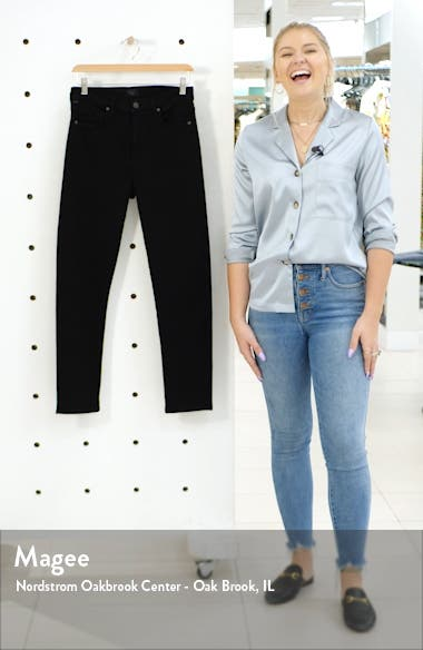 Harlow High Waist Ankle Slim Cut Jeans, sales video thumbnail